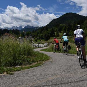 Tarvisio - fietsen van Salzburg naar Lake Bled Slovenië