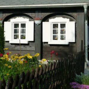 Umgebindehaus - Oberlausitz - Fietsen langs de Oder Neisse