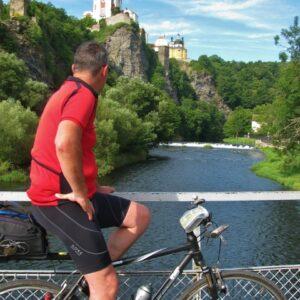 Vranov nad Dyje kasteel - fietsen Tsjechië