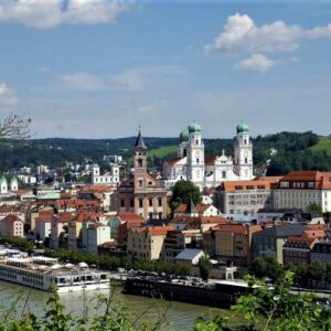 historisch centrum van Passau