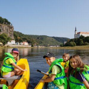 Fietsvakantie met kinderen Praag - Dresden