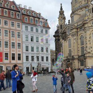 Frauenkirche Dresden - Elberoute
