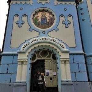 Blauwe kerk Bratislava