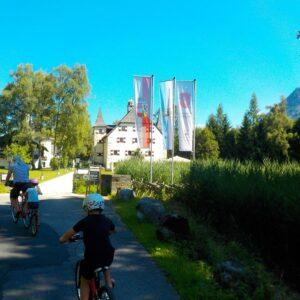 Fietsen in Oostenrijk met kinderen - Tauernradweg