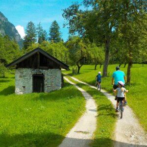 Fietsvakantie met kinderen Alpen Oostenrijk
