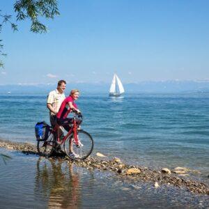 Fietsen rond de Bodensee