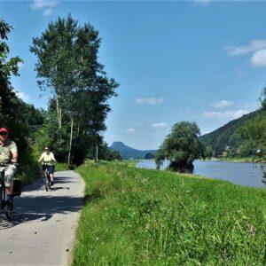 Elberadweg - fietsen van Praag naar Dresden