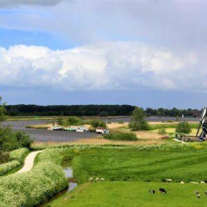 Ijlst - fietsen Friesland