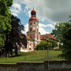 Kasteel Roudnice - Fietsen van Praag naar Dresden langs de Elberadweg