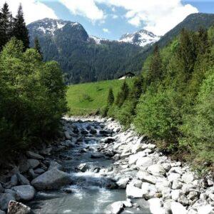 Salzach - Tauern - Tauernradweg - fietsvakantie in de Alpen