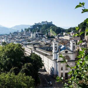Salzburg centrum - fietsen Krimml - Salzburg