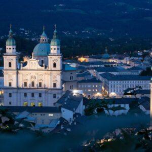 Salzburg historisch centrum