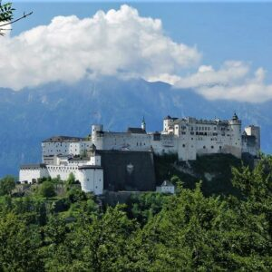 Salzburg kasteel - Verkorte Tauernradweg