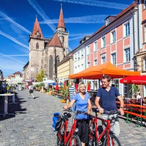 Ansbach centrum - Fietsvakantie Altmühltal