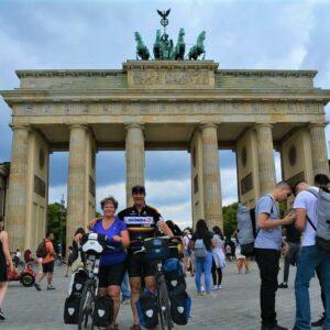 Berlijn Brandenburger Tor Fietsen Dresden Berlijn