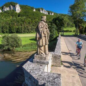 Beuron - fietsen langs de Donau vanaf de bron