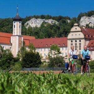 Beuron klooster - Fietsen langs de Donau vanaf de bron