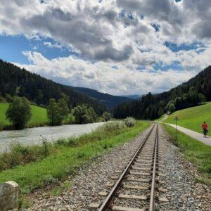 Fietsvakantie Alpen Fietsen langs de Mur