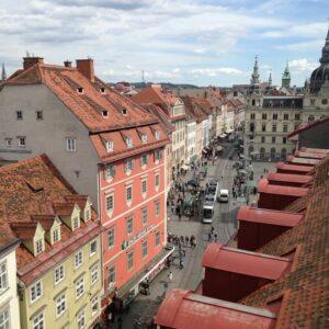Graz historisch centrum