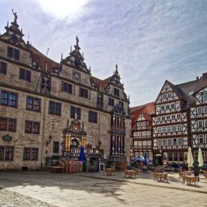 Hann. Münden historisch centrum