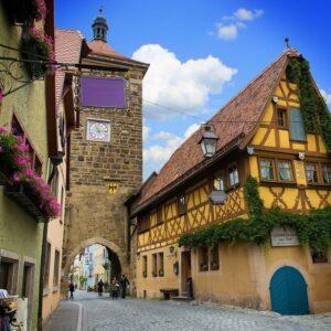 historisch centrum Rothenburg