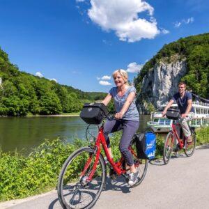 Weltenburg Donaudurchbruch - fietsvakantie Altmuhltal