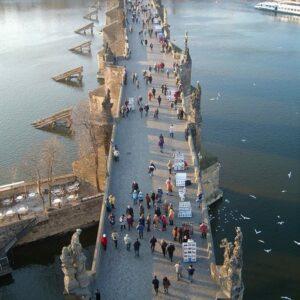 Praag - Karelsbrug - UNESCO