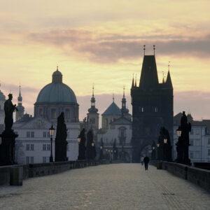 UNESCO fietsreis Tsjechië - Praag Karelsbrug