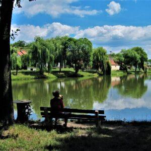 Fietsvakantie Zuid-Moravië Tsjechië - pauze
