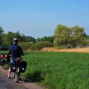 Fietsen langs de Elbe vanaf de bron