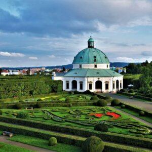Kromeritz - Aartsbisschoppelijk paleis en tuinen - UNESCO