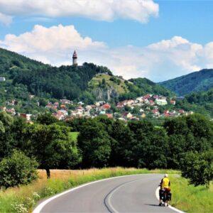 Fietsen van Praag naar Krakau - Stramberk