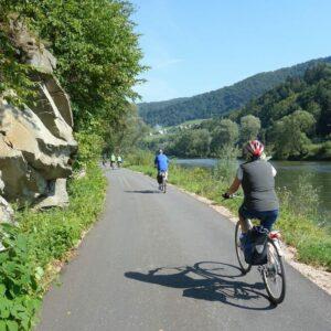 Fietsen langs de Dunajec