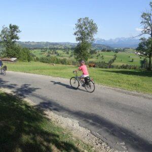 Fietsen langs de Dunajec Fietsvakantie Hoge Tatra