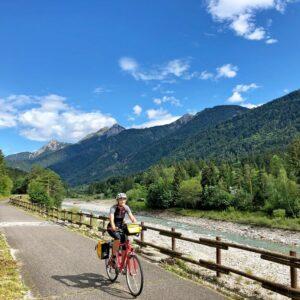 Fietsroute Alpe Adria van Villach naar Grado / Triëst