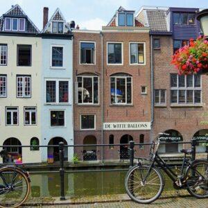 Grachten binnenstad Utrecht