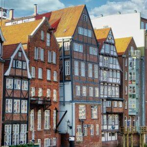 Hamburg centrum etsvakantie langs de Elbe