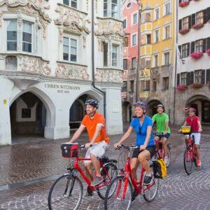 Innsbruck Fietsen langs de Inn en Adige