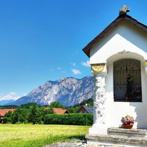 Kapelletje onderweg - Alpe Adria Radweg