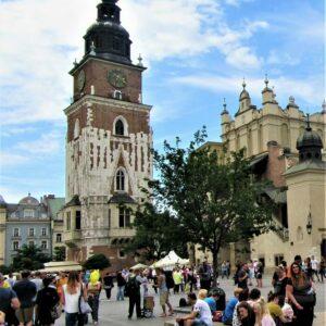 Krakau - Oude stad met Raadhuistoren