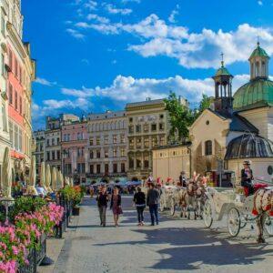 Krakau Fietsvakantie door Polen