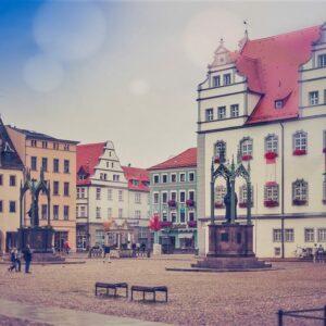 Lutherstadt Wittenberg centrum