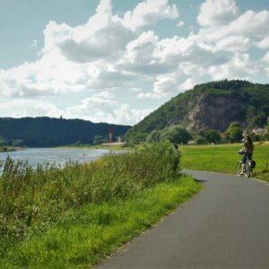 Meissen fietsen langs de Elbe Dresden Magdeburg