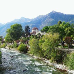 Merano langs de rivier