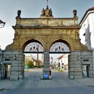Plzen - Pilsner Urquell poort