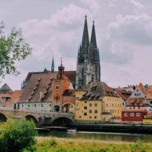 Fietsen van Praag naar Regensburg - Oude Stad - UNESCO