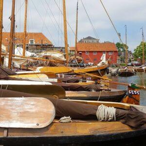 Spakenburg botters Fietsvakantie IJsselmeer