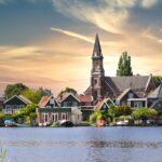 Volendam aan het water fietsvakantie IJsselmeer