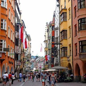 Innsbruck Fietsen langs de Inn