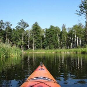 kanoën Krutynia rivier Mazurië
